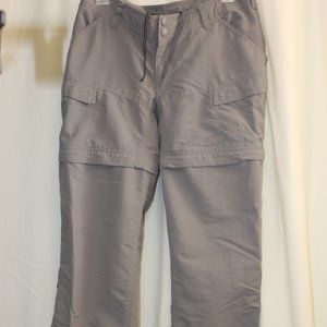 NORTH FACE Convertible Cargo Hiking Pants Size 6